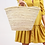 Thumbnail: Straw Bag - Miami French Market Basket  Large