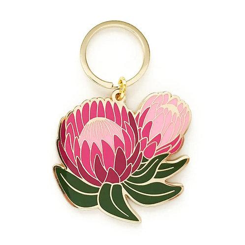 Ofelia Protea Floral Keychain