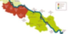 Karte der Elberegion