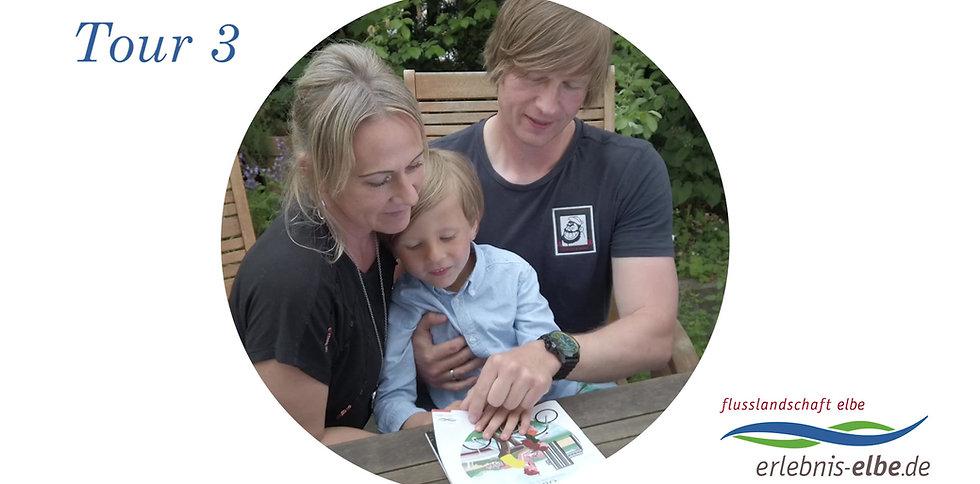 Tour 3 - mit dem Rad unterwegs im Biosphärenreservat Niedersächsische Elbtalaue