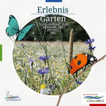 """Erlebnis Garten""                               Der Gartenführer 2021 da"