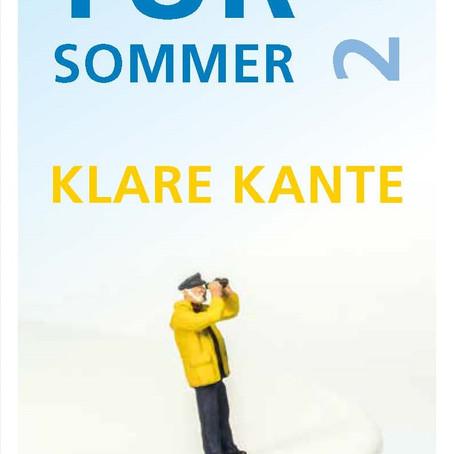 Kultur Sommer Klare Kante
