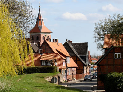 Half-timbered town of Bleckede