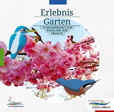 """The garden brochure """"Erlebnis Garten"""""""