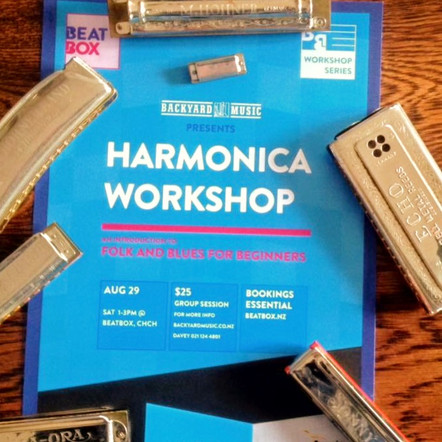 Harmonica, Songwriting Workshops & More...