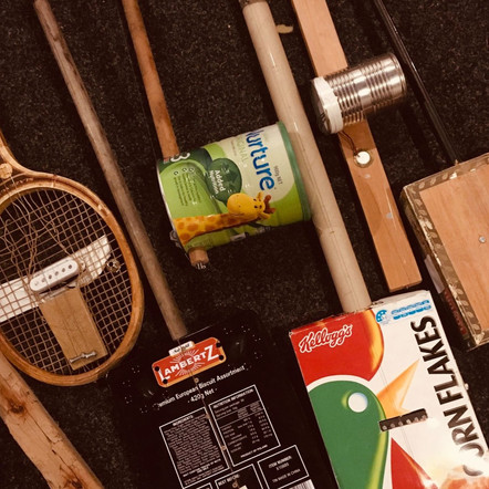Homemade cranky instruments