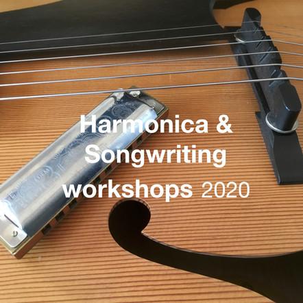 Harmonica & Songwriting workshops 2020