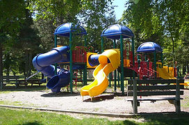 Picture of play equipment at park