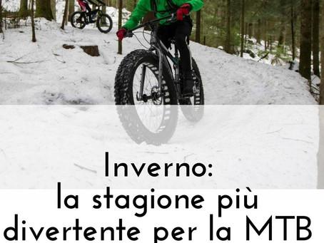 Inverno: la stagione più divertente per la MTB