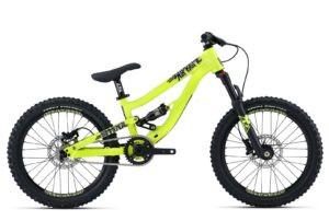 Ecco una bici da downhill con ruote da 20