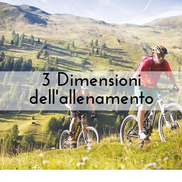 3 Dimensioni allenamento