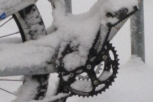 allenamento mtb neve