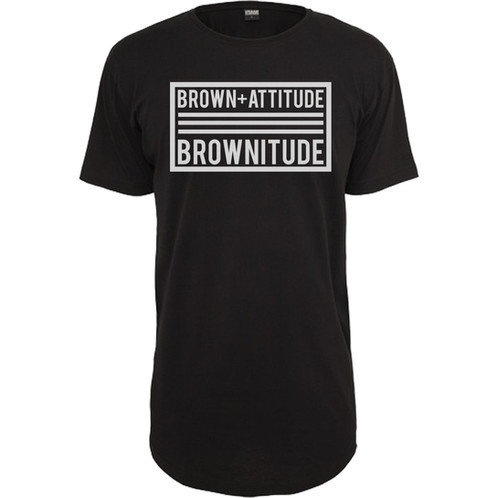 Brownitude black t shirt brownitude of brownitude caspule collection the thought process of this t shirt was inspired by one of hip hop greatest icon jay z album cover the blueprint 3 malvernweather Gallery
