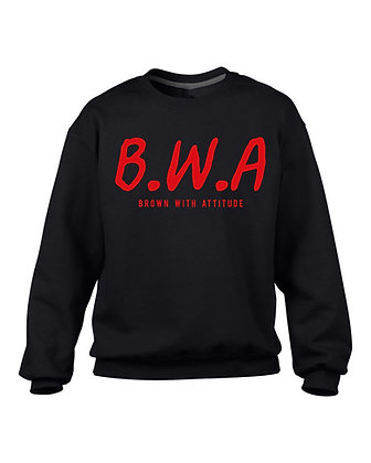 B.W.A BLACK  JUMPER