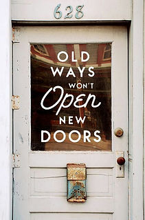 Old Ways Won't Open New Doors image
