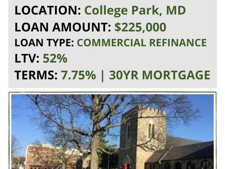 FUNDED: $225,000 Church Refinance & Rehab