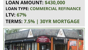 FUNDED: $430,000 Day Care Center Refinance & Back Tax Clean-Up
