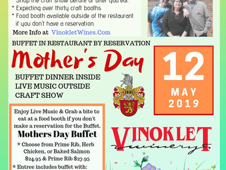 Mothers Day Buffet & Craft Show