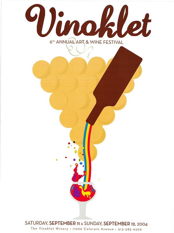 2004 6th Vinoklet Winery Art & Wine Festival Poster.jpg