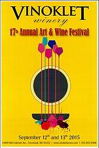 2015 17th Vinoklet Winery Art & Wine Festival Poster.jpg