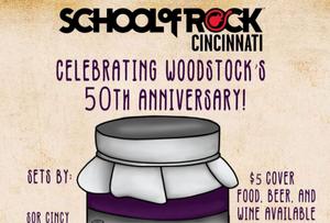 School of Rock 50th Anv of Woodstock at Vinoklet Winery