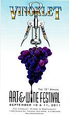 2011 13th Vinoklet Winery Art & Wine Festival Poster.jpg