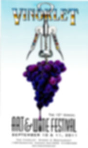 2011 13th Vinoklet Winery Art & Wine Festival Poster.jpg