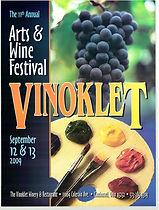 2009 11th Vinoklet Winery Art & Wine Festival Poster .jpg