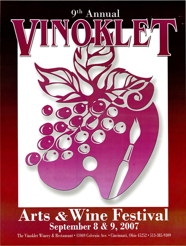 2007 9th Vinoklet Winery Art & Wine Festival Poster.jpg