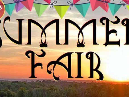 Summer Fair 2021 - Saturday, July 10th