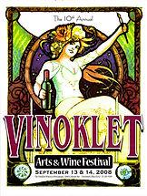 2008 10th Vinoklet Winery Art & Wine Festival Poster.jpg
