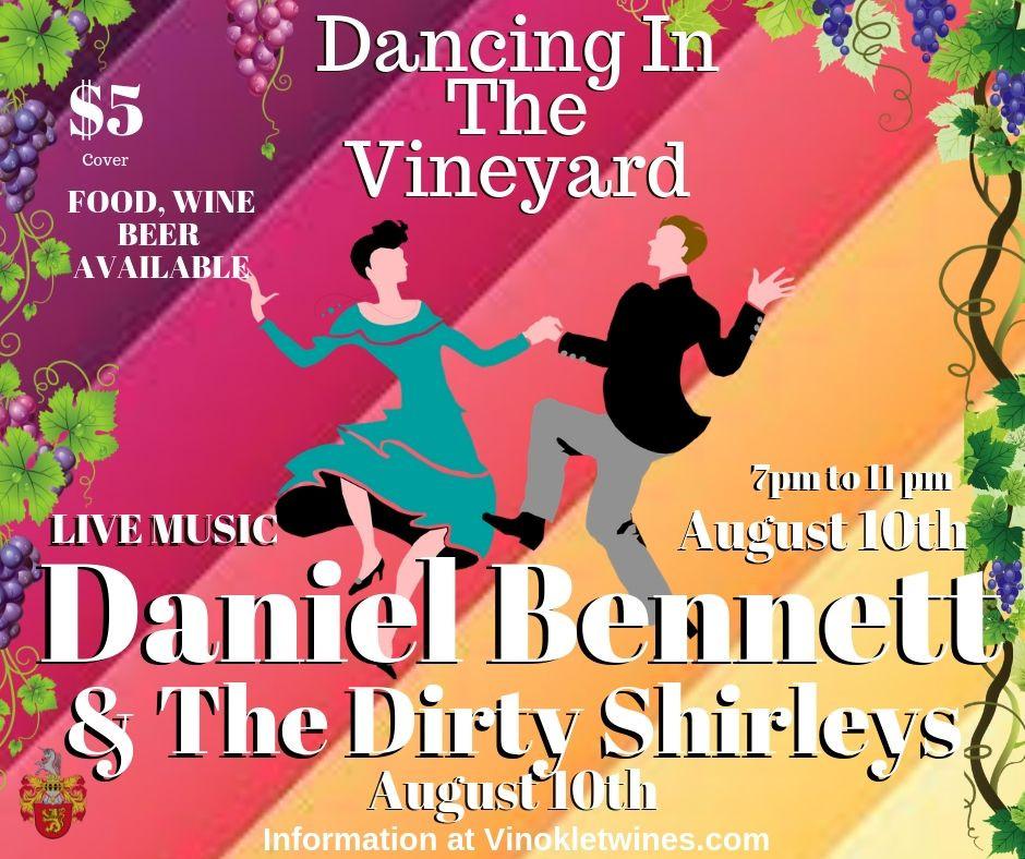 Daniel Bennett & The Dirty Shirleys at Vinoklet Winery