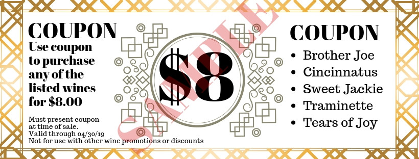 Ladies Night Coupon Sample