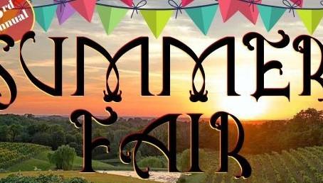 Summer Fair 2019 - Saturday, July 13th