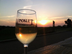 Vinoklet Winery & Restaurant Sunset