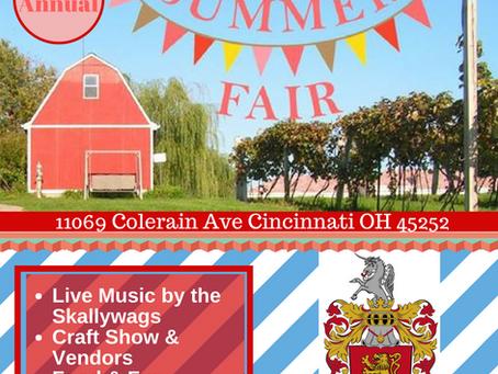 Summer Fair 2018 - Sunday July 8th