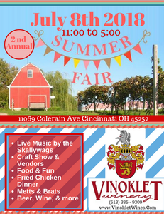 Summer Fair July 8th 2018