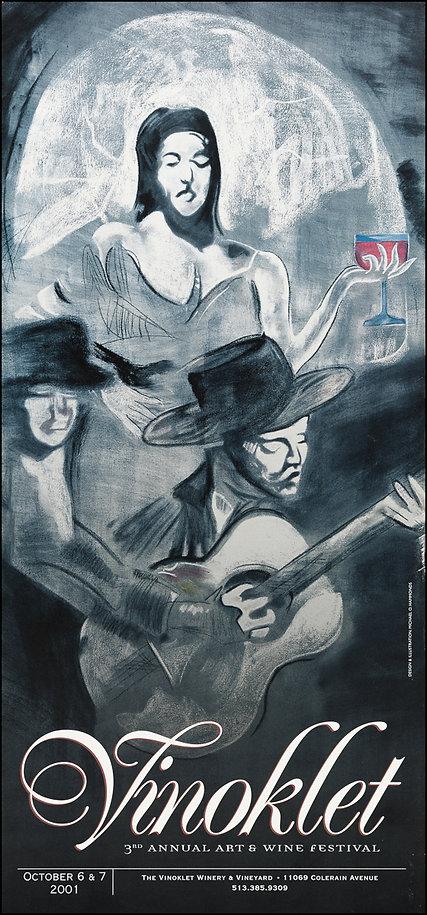2001 3rd Vinoklet Winery Art & Wine Festival Poster.jpg