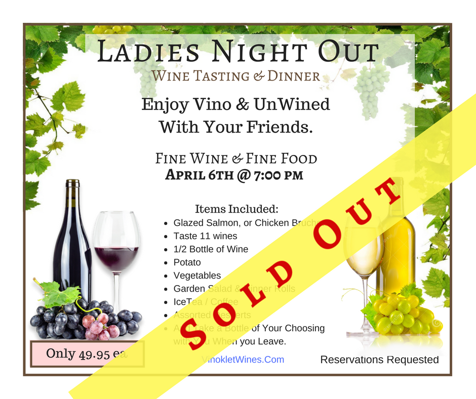 Ladies Night Out Special