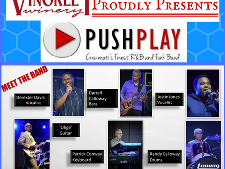 Push Play - Live at Vinoklet Winery     R&B and Funk