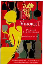 2013 15th Vinoklet Winery Art & Wine Festival Poster.jpg