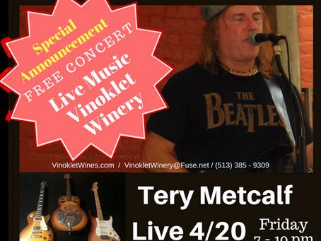 Tery Metcalf Live
