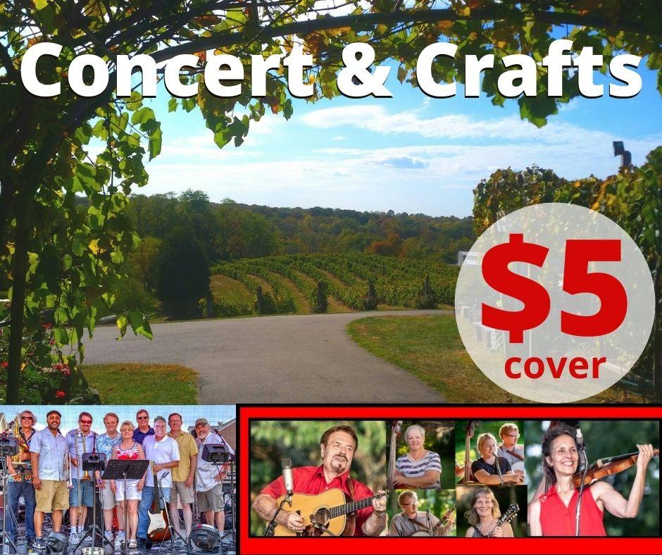Concert & Craft Oct 3rd