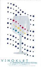 2003 5th Vinoklet Winery Art & Wine Festival Poster.jpg