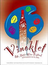 2006.8th Vinoklet Winery Art & Wine Festival Poster.jpg