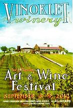 2012 14th Vinoklet Winery Art & Wine Festival Poster.jpg