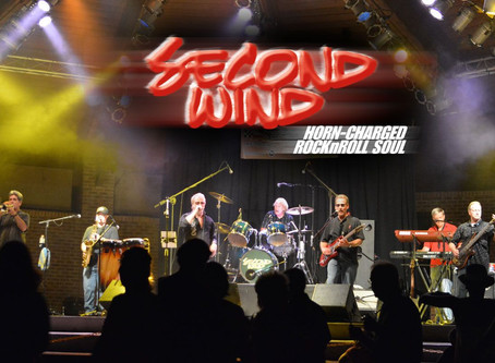 Second Wind Playing Live @ Vinoklet