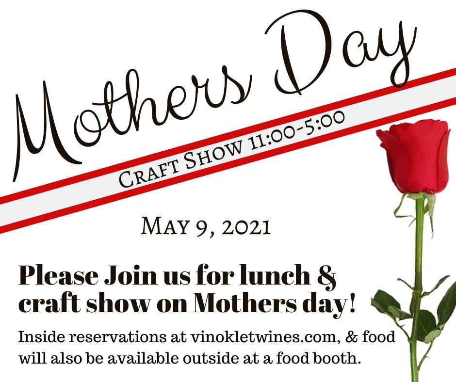 Mothers Day Lunch & Craft Show 2021