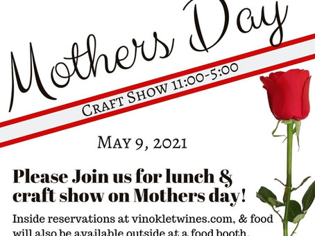 Mother's Day Lunch & Craft Show