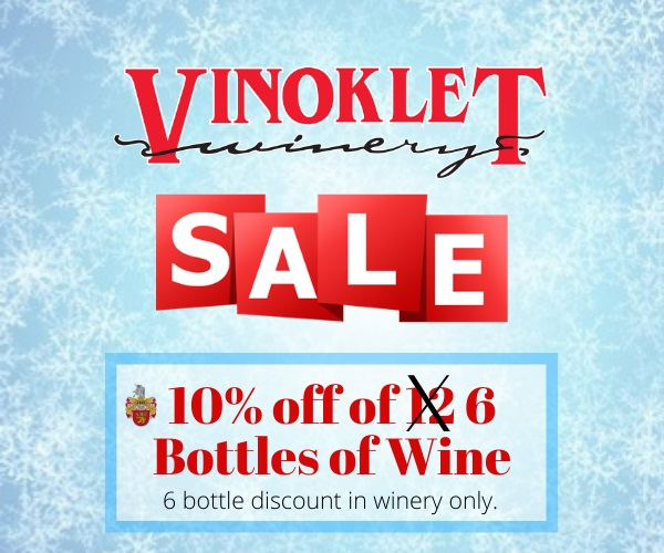 Winter Sale - 10% off Wine _ In Restaura